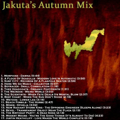 Jakuta's Autumn Mix 2010