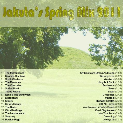 Jakuta's Spring Mix 2011