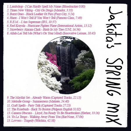 Jakuta's Spring Mix 2013