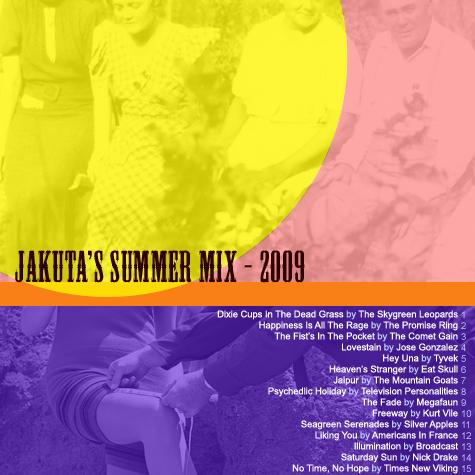 Jakuta's Summer Mix 2009