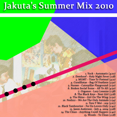 Jakuta's Summer Mix 2010