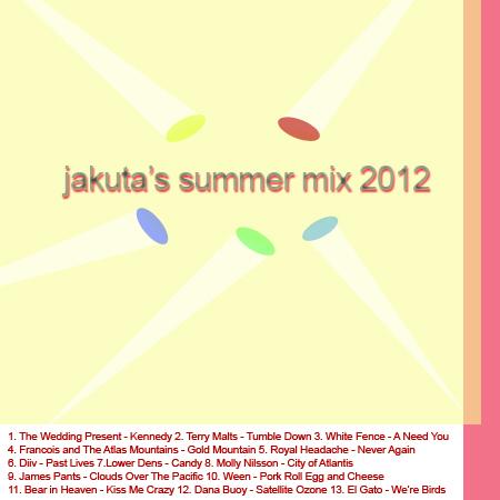 Jakuta's Summer Mix 2012