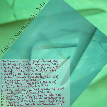 Jakuta's Summer Mix 2014