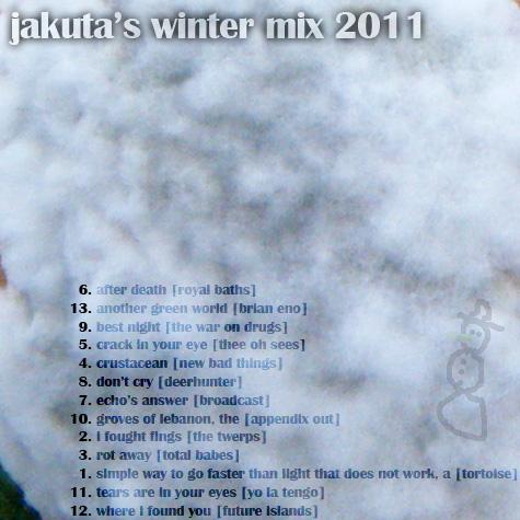 Jakuta's Winter Mix 2012