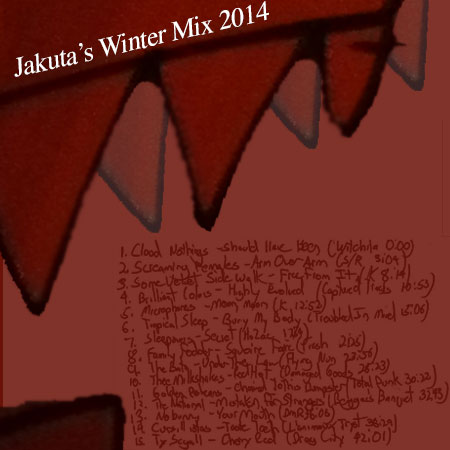 Jakuta's Winter Mix 2014